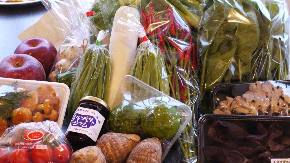 野菜Box秋の一例