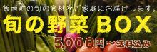 島根県飯南町の旬の食材をお届けする『旬の野菜Box』