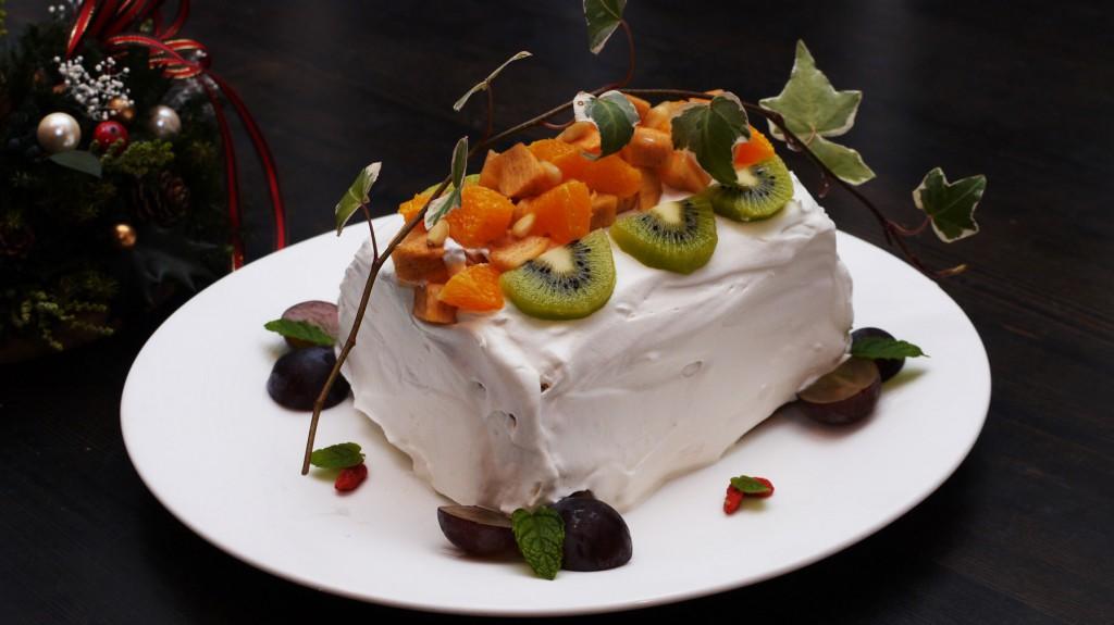 自家製バースデーケーキ