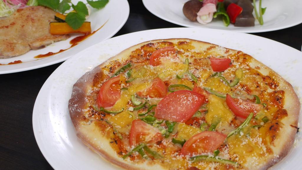 オリジナルトマト風味ピザ