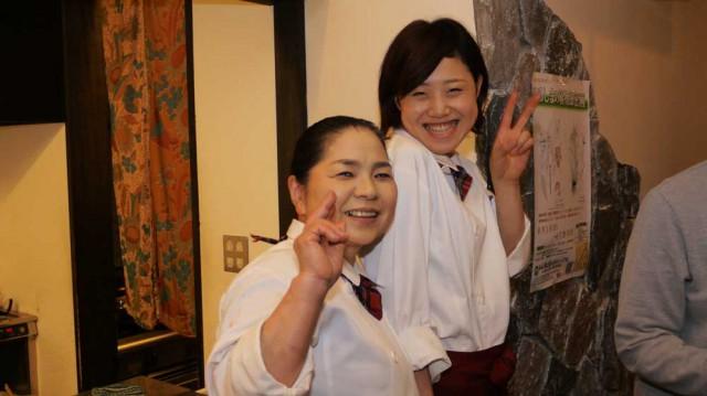 オーナー宮脇 多太恵 新人スタッフ 高橋さん