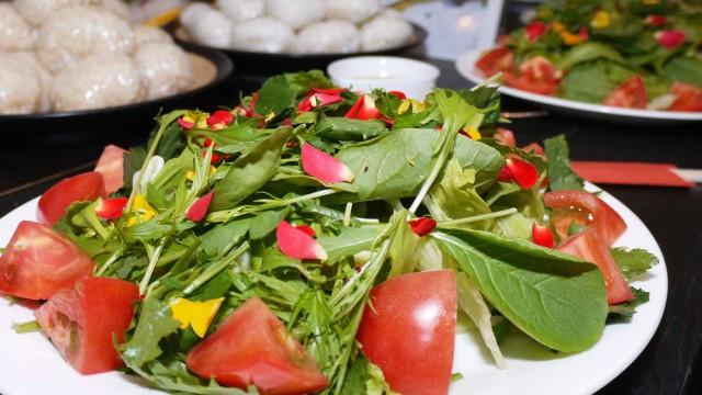 飯南野菜と食べる花