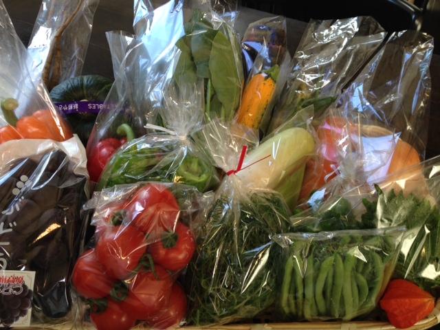 『 旬の野菜BOX 』を松江と広島へ発送しました\(^o^)/
