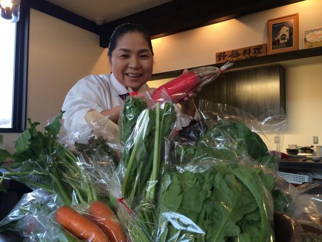 ミセス・ロビンフッド 旬の野菜BOX発送しました。